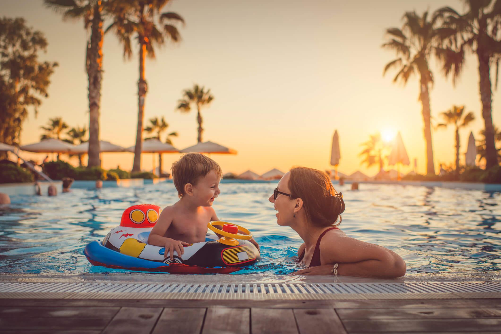 férias com as crianças